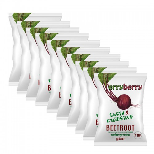 ErryBerry Beetroot (combo of 10) [20gm each pkt]