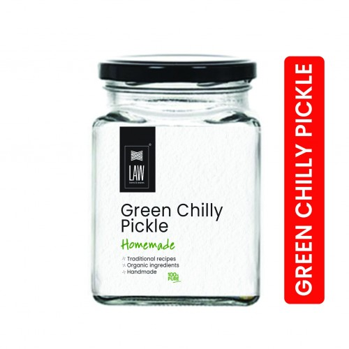 Homemade Green Chilly Pickle (250 gm)