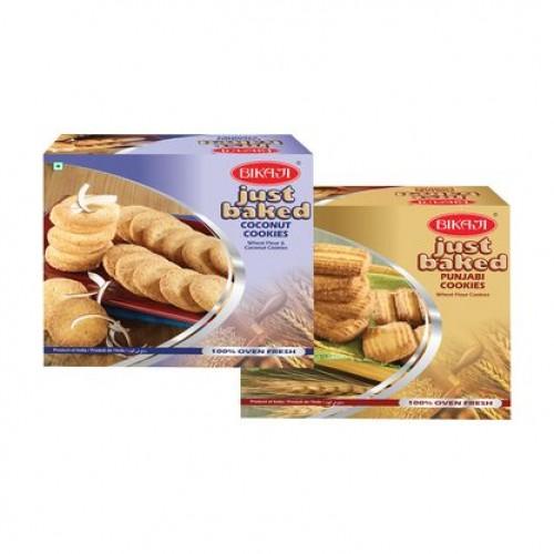 Coconut Cookies and punjabi cookies combo