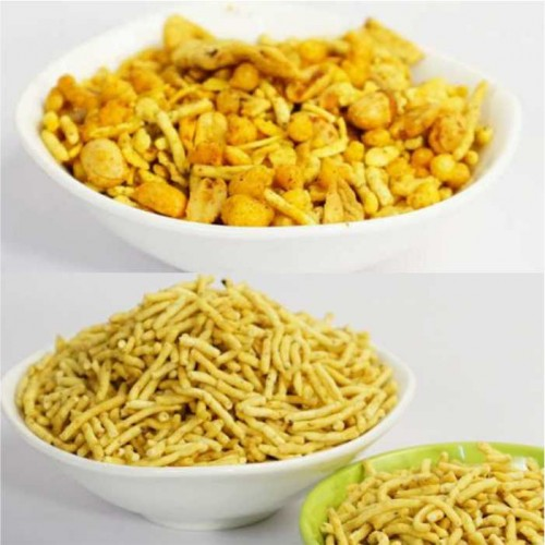 Ratlami Sev + Indori Mixture - 200g each